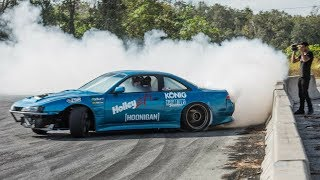 Download I LET ADAM LZ DRIFT MY V8 240SX! Video