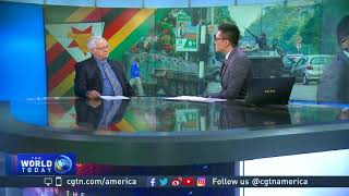 Download Thomas Dempsey discusses Robert Mugabe's refusal to resign Video