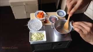 Download Miniature Cooking: Mini Sotanghon With Chicken Meatballs (cooking mini food) つくね Video