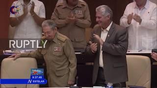 Download Cuba: 86-year-old Castro postpones retirement until April 2018 Video