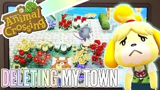 Download Sorry, Isabelle ❖ Deleting My First Animal Crossing Town Video