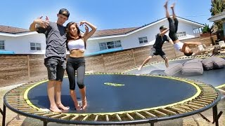 Download TEACHING MY GIRLFRIEND HOW TO BACKFLIP! Video