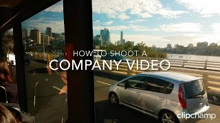 Download How to shoot a company video Video