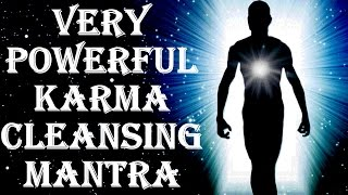Download BEST KARMA CLEANSING FOR BAD KARMA EFFECTS : KARMA SHANTI MANTRA : VERY VERY POWERFUL ! Video