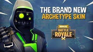 Download The Brand New Archetype Skin!! - Fortnite Battle Royale Gameplay - Ninja Video