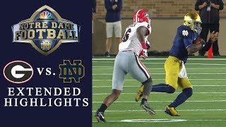 Download Georgia vs. Notre Dame EXTENDED HIGHLIGHTS | NCAA Football | NBC Sports Video