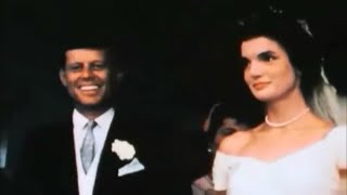 Download September 12, 1953 - The Wedding of John F. Kennedy & Jacqueline Bouvier in Color Video