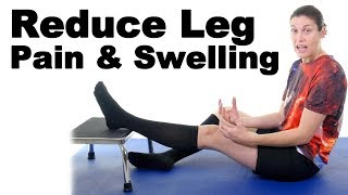 Download 5 Easy Ways to Reduce Leg Pain & Swelling - Ask Doctor Jo Video