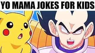 Download YO MAMA FOR KIDS! Anime Jokes ft. Pokemon, Dragon Ball Z (DBZ) Video