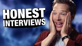 Download Benedict Cumberbatch is Anakin Skywalker? - Honest Interviews Video