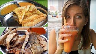 Download Breakfast in Malaysia | Eating Roti in Kuala Lumpur Video