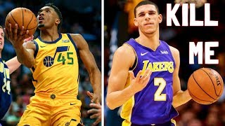 Download Meet Lonzo Ball's WORST NIGHTMARE: Donovan Mitchell is STEPH CURRY AND KOBE COMBINED. Video
