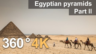 Download 360°, Egyptian pyramids. Part II. 4К video Video