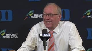 Download Jim Boeheim Press Conference at Duke Video