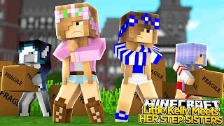 Download Minecraft Royal Family - LITTLE KELLY MEETS HER NEW STEPSISTERS! w/ Little Carly Video