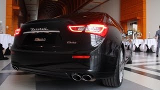 Download 2013 Maserati Ghibli - (Start-up and LOUD revving!) Video