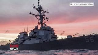 Download USS John S. McCain Collides With Merchant Ship Near Strait of Malacca Video