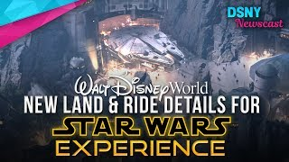 Download New Ride and Land Details for 'Star Wars Land' at Walt Disney World - Disney News - 6/1/17 Video