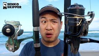 Download Beach fishing: $30 Vintage Reel VS $1200 Shimano Stella Video