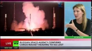 Download Progress spaceship to ISS destroyed, most pieces burned up in atmosphere - Roscosmos Video