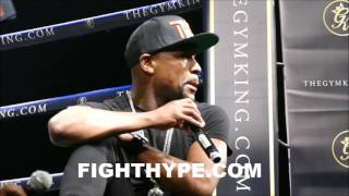 Download FLOYD MAYWEATHER ON WHO HIT HIM THE HARDEST AND TOUGHEST FIGHT; ANSWERS FAN QUESTIONS Video