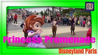 Download Princess Promenade with Sofia the First and Elena of Avalor, Disney Junior - Disneyland Paris Video