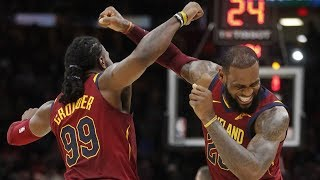 Download LeBron James Scores/Asts Final 22 Pts! Triple Double vs 76ers! 2017-18 Season Video