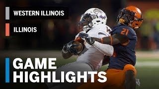 Download Highlights: Western Illinois Leathernecks vs. Illinois Fighting Illini | Big Ten Football Video