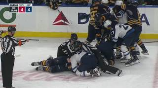 Download Gotta See It: McCabe absolutely levels Laine with bone-crushing hit Video
