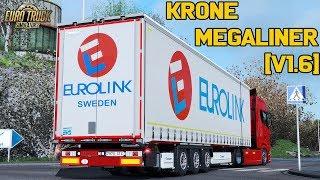 Download ✅ [ETS2 1.32] Krone MegaLiner 2017 by Sogard3[v1.6][1.32][28-10-18] Video