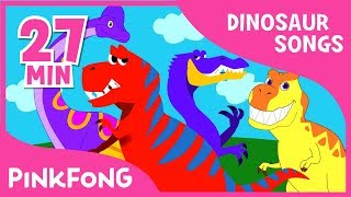 Download Tyrannosaurus Rex and 23+ songs| Dinosaur Songs | + Compilation | Pinkfong Songs for Children Video