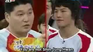 Download Xman #26 - Dangyunhaji - Kang Ho Dong, Shin Jung Hwan vs KJK.flv Video