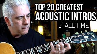 Download TOP 20 ACOUSTIC GUITAR INTROS OF ALL TIME Video