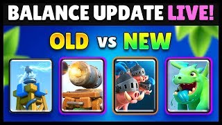 Download Balance Changes 8/6 OLD & New Comparison | Clash Royale Highlights Video