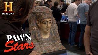 Download Pawn Stars: The Egyptian Cartonnage Mummy Mask | History Video