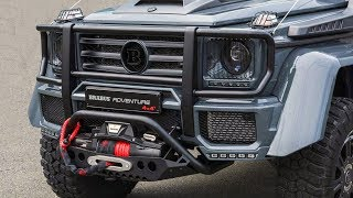 Download BRABUS Adventure 4x4² based on Mercedes G-class 500 Video
