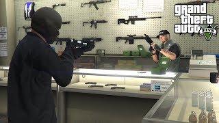 Download ROBBING GUN STORES IN GTA 5!!! (GTA 5 REAL LIFE PC MOD) Video