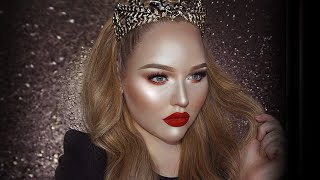 Download FULL FACE USING ONLY HIGHLIGHTERS Challenge   NikkieTutorials Video