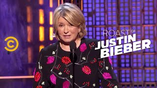 Download Roast of Justin Bieber - Martha Stewart - Changing Lives for the Better Video