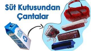 Download Süt Kutularından Portföy Çantalar | Pretty Handbags Made of Milk Case Video
