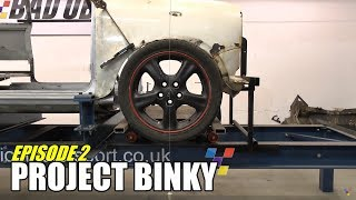 Download Project Binky - Episode 2 - Austin Mini GT-Four - Turbo Charged 4WD Mini Video