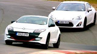 Download Toyota GT86 VS Renaultsport Megane 265: Time Trial Video