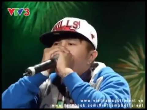 Vietnam's Got Talent Tập 8-Mr.T Beatboxing