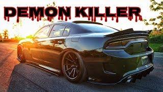 Download Grocery Getter 1200 BHP Dodge Charger Hellcat SRT | Dodge Demon Killer? Video