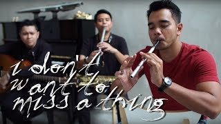 Download I Don't Want To Miss A Thing - Alif Satar Cover Video