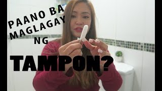 Download PAANO BA MAGLAGAY NG TAMPON + GIVEAWAY! Video