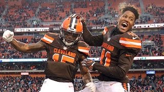 Download Cleveland Browns excited about first win of the season Video