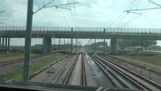Download Rotterdam-Antwerpen 300 km/h, Thalys cab ride / cabinerit Video
