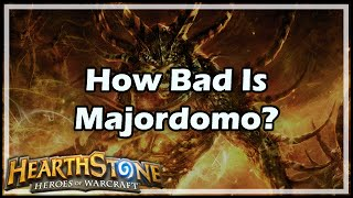 Download [Hearthstone] How Bad Is Majordomo Executus? Video