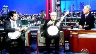 Download Noam Pikelny & Steve Martin play Duelling Banjos on Letterman Nov 5 2010 Video